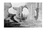 Ruined Walls of the Enchanted Garden, Just Outside Samarra City, Iraq, 1917-1919 Giclee Print
