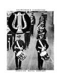Musician, Royal Marines, 1937 Giclee Print by  WA & AC Churchman