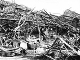 Renault Factory Destroyed by Allied Bombing, Sevres, Near Paris, 1940-1944 Photographic Print