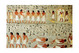 Egyptian Tomb, Procession of the Crown, Thebes, Egypt Giclee Print