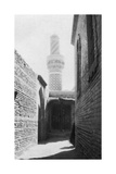 Backstreet and Old Mosque, Baghdad, Iraq, 1917-1919 Giclee Print