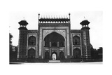 Gateway to the Taj Mahal, Agra, India, 1916-1917 Giclee Print
