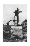 The Grave of an Italian Red Cross Volunteer Nurse, C1918 Giclee Print