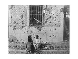 Homeless Children, Barcelona, Catalonia, Spain, Spanish Civil War, C1936-C1939 Giclee Print