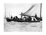 A Royal and Imperial Party at Cowes, 1910 Giclee Print