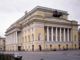 The Alexandrinsky Theatre in Saint Petersburg, 1828-1832 Photographic Print by Carlo Rossi