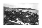 View of Albert I Gardens, Nice, South of France, Early 20th Century Giclee Print