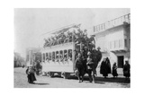 Soldiers from the East Surrey Regiment in Kazimain, En Route for Baghdad, Iraq, 1917-1919 Giclee Print
