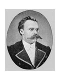 Friedrich Wilhelm Nietzsche, German Philospher and Writer Giclee Print