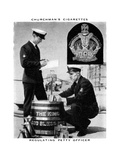 Regulating Petty Officer, 1937 Giclee Print by  WA & AC Churchman