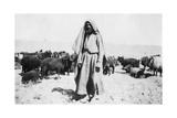 Arab Shepherd, Kazimain Area, Iraq, 1917-1919 Giclee Print
