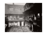 Courtyard at the Oxford Arms Inn, Warwick Lane, from the First Floor, City of London, 1875 Photographic Print
