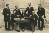 The Members of the First International Olympic Committee. Athens, Greece, 1896 Photographic Print by Albert Meyer