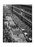 Parade at the Cenotaph, Martin Place, Sydney, New South Wales, 1945 or 1946 Giclee Print