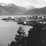Zell Am See, Salzburg, Austria, C1900s Photographic Print by  Wurthle & Sons