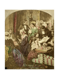 Evenings at Home, 19th Century Giclee Print