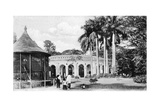 View in the Zoological Gardens, Calcutta, India, Early 20th Century Giclee Print