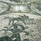 Chariotieer, Mosaic, Cisarii, Ostia, Italy, C1st Century Photographic Print