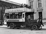 1909 Milnes Daimler Bus, (C1909) Photographic Print