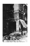 Damage after a Raid by German Gotha Bombers, Paris, 11th March 1918 Giclee Print