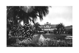 View of Albert I Gardens and the Casino, Nice, South of France, Early 20th Century Giclee Print