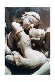Erotic Sculpture, Khajuraho, India, C950-1050 Giclee Print