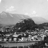 The Kapuzinerberg, Salzburg, Austria, C1900 Photographic Print