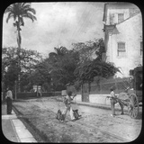 Street Scene, Pernambuco, Brazil, Late 19th or Early 20th Century Photographic Print