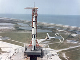 Apollo 15 on the Launch Pad at Kennedy Space Center, Florida, USA, 1971 Photographic Print