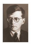 Portrait of the Composer Dmitri Shostakovich (1906-197), 1930S Giclee Print