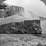 American Falls, Niagara Falls, in Winter, New York, USA Photographic Print