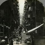 Gradoni Di Chiaia, Naples, Italy Photographic Print