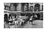 Royal Horse Guards, Changing Guard, London, 1915 Giclee Print
