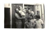 Nadezhda Yakovlevna Mandelstam with Father Alexander Vladimirovich Men, 1970s Giclee Print