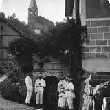 Mine Entrance, Salzburg, Austria, C1900s Photographic Print