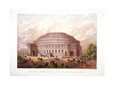 Albert Hall, Kensington, London, 1868 Giclee Print by  Kronheim & Co