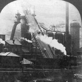 Blast Furnace, Pittsburgh, Pennsylvania, USA, Early 20th Century Photographic Print