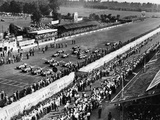 Start of the Italian Grand Prix, Monza, Early 1950S Photographic Print