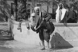 A Water Carrier in Damascus, Syria, C1920s-30s Photographic Print