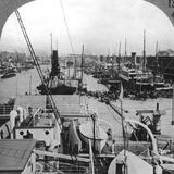 Buenos Aires Docks, Argentina, C1900s Photographic Print