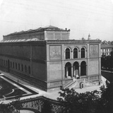 The Neue Pinakothek, Munich, Germany, C1900 Photographic Print