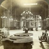 Roulette Salon, Monte Carlo, Monaco Photographic Print