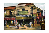 Chemist's Shop, Yokohama, Japan, 20th Century Giclee Print