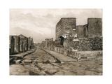Tempio Della Fortuna, Pompeii, Italy, C1900s Giclee Print