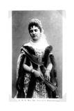 Princess Anastasia of Montenegro (1867-193), C. 1909 Giclee Print