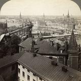 Cityscape, Stockholm, Sweden Fotografisk tryk af  Underwood & Underwood