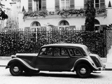 1954 Citroën 15CV Familiale Parked Outside a House Photographic Print