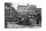The Market, Haifa, Palestine, C1920S-C1930S Giclee Print