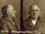 A Mug Shot of Osip Mandelstam, 1938 Photographic Print