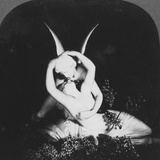 Cupid and Psyche, Late 19th Century Photographic Print